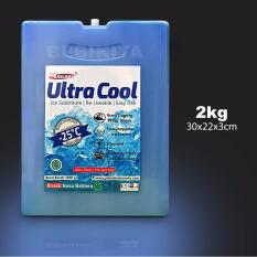 Beli Ultra Cool Blue Ice Pack Gel Uk 30X22X3 Cm 2 Kg Ice Cool Online