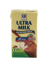 ULTRA MILK COKELAT 125 ml /1 DUS/40 pcs