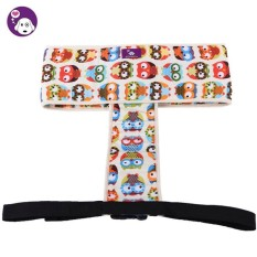 Umiwe Pure Cotton Baby Toddler Enhanced Dinning High Chair Harness Booster Travel Outdoor Car Portable Safety Seat Belt Strap,Owl - intl