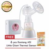 Unimom Allegro Alat Pompa Asi Elektrik Single Electric Breastpump Gratis 6 Buah Plastik Asip Banten Diskon