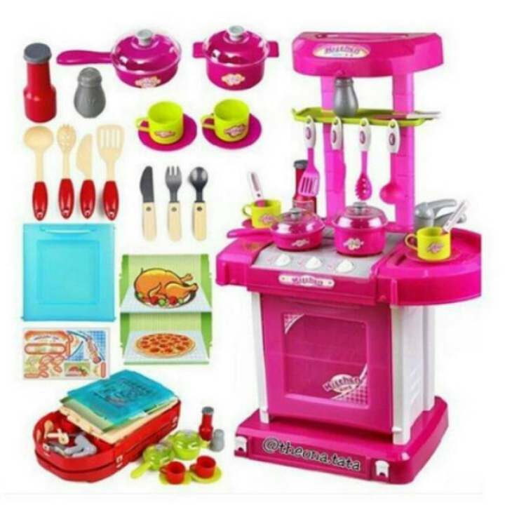 Kitchen Set Lazada: Kitchen Set: Membeli Jualan Online Mainan
