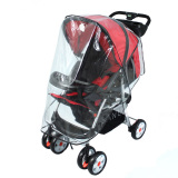 Cuci Gudang Universal Strollers Pushchairs Baby Carriage Waterproof Dust Rain Cover