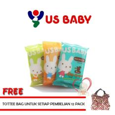 Promo Us Baby Hand Face Tooth Gum Wipes Multi Terbaru