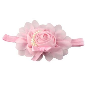 Bunga Karet Rambut Pita Bando Aksesoris Headwear Elastis Hadiah-Intl. Source . Source ·