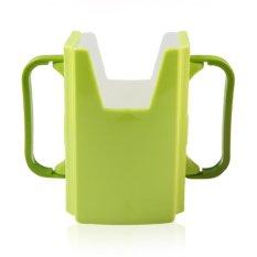 Vanker Baby Toddler Kid Adjustable Juice Milk Box Drinking Bottle Cup Holder Fuchsia Green Diskon Akhir Tahun