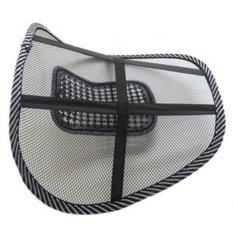 Vanker Car Seat Chair Back Lumbar Waist Massage Mesh CushionSupport Pad