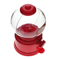 Harga Vanker Novelty Candy Dispenser Machine Gumball Gum Ball Snacks Penyimpanan Kotak Gift Toy Merah Lengkap