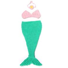 Promo Velishy Kostum Mermaid Anak Fotografi Alat Peraga 3 Buah Di Tiongkok