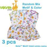Toko Velvet Junior Basic Baby Setelan Kutung Kancing Depan Celana Pendek Isi 3 Pcs L Murah Di Indonesia