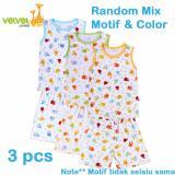 Toko Velvet Junior Basic Baby Setelan Kutung Oblong Celana Pendek Isi 3 Pcs Xxl Yang Bisa Kredit