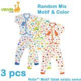 Top 10 Velvet Junior Basic Baby Setelan Panjang Kancing Depan Celana Panjang Isi 3 Pcs S Online