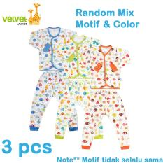 Promo Velvet Junior Basic Baby Setelan Panjang Kancing Depan Celana Panjang Isi 3 Pcs S Dki Jakarta