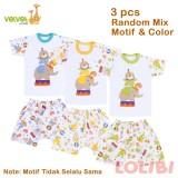 Promo Velvet Junior Playfull Random Motif Oblong Celana Pendek M 3 Pcs Akhir Tahun