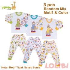 Beli Velvet Junior Playfull Random Motif Oblong Panjang Celana Panjang M 3 Pcs Secara Angsuran