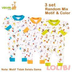 Toko Velvet Junior Random Motif Baju Kodok Panjang Bk Nb 3 Pcs Termurah