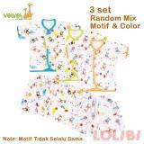Jual Velvet Junior Random Motif Baju Pendek Celana Pendek M 3 Pcs Antik