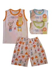 Beli Velvet Junior Setelan Piyama Pendek Kutung Playfull Little Indian 3Set Size Xxl Lengkap