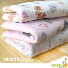 Spek Velvet Mixed Bedong G*Rl 3 Pcs