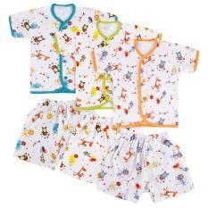 Jual Beli Online Velvet Safari Baju Celana Pendek M 3 Pcs