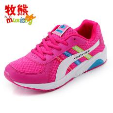 Beli Sepatu Olahraga Anak Perempuan Besar Permukaan Kulit Versi Korea Seken
