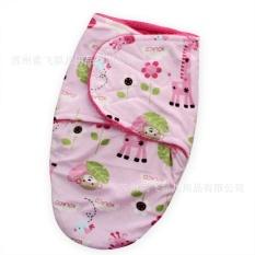 Kemenangan Baru Double-deck Pola Hewan Pendek Plush Baby Quilt Selimut Bayi Yang Baru Lahir Baby Sleeping Bags Tas Basah- INTL