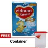 Spesifikasi Vidoran Xmart 3 Susu Pertumbuhan Vanila 750 G Gratis Container Susu Online