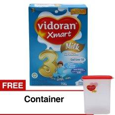 Review Tentang Vidoran Xmart 3 Susu Pertumbuhan Vanila 750 G Gratis Container Susu