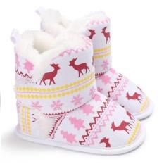 Vishine Mall-Cool Baby Sepatu Nyaman Balita Boots Salju Boots Bayi Anak-anak Bayi Baru Lahir Prewalker Sepatu-Intl
