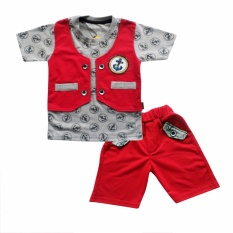 Harga Waka Kids Baju Anak Bayi Oblong Tangan Pendek Stelan Kaos Cln Pendek 2082 Merah Ukuran 1 Dan Spesifikasinya