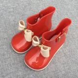 Review Tentang Warna Lucu Four Seasons Siswa Karet Sepatu Sepatu Anak Anak Hujan Sepatu