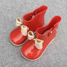 Obral Warna Lucu Four Seasons Siswa Karet Sepatu Sepatu Anak Anak Hujan Sepatu Murah