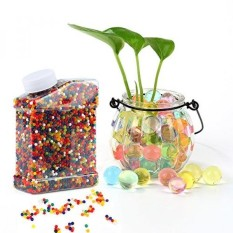 Water Beads,Environmental Absorbent Polymer Jelly Water Growing Balls for Kids Tactile Sensory Toys, Vases, Plants, Wedding and Home Decoration Rainbow Mix 35000 Pieces by WEfun - intl
