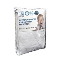 Anti-Air Crib Mattress Sarung Anti-alergi & Dapat Bersirkulasi Katun Tipis elastis & Elastis Kain Agar Nyaman Melindungi Bayi Terhadap Tungau Debu & Cairan & Meningkatkan Tidur-Internasional