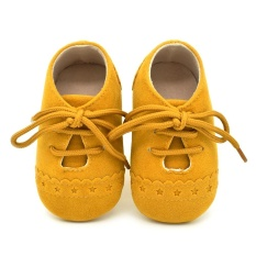 Weiyue-Casual Babies Shoes Lace Up For Infants Kids Toddlers Soft Comfortable Footwear - intl
