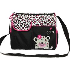 Jual Weizhe Multifungsi Mummy Diaper Bag Baby Nappy Handbag With Changing Mat Pink Tiger Louis Will Murah