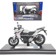 Welly 1:18 Miniatur Motor Honda Cb500f - Bade99 - Original Asli