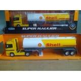 Harga Welly Miniatur Alat Berat Truck Tangki Shell Scala 1 87 Kuning Yang Murah Dan Bagus
