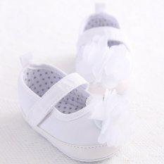 Harga Putih Bunga Balita Bayi Sepatu Bayi Sol Lembut Slip Her At Brothers And Perempuan Rumbai Kembang Sepatu S1368 Ekspor Not Specified Baru