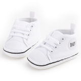 Diskon Putih Panas Balita Bayi Sol Lembut Kanvas Sepatu Slip On Bayi Laki Laki Sepatu Flat S1603 Akhir Tahun