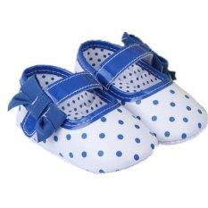 Harga White Hot Balita Baru Lahir Soft Sole Slip On Shoes Bayi Boys Girls Rumbai Sepatu S615 Satu Set