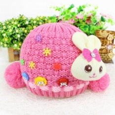 Whole Lamb Cashmere Knit Hat Liner Infants And Young Children Hot - intl