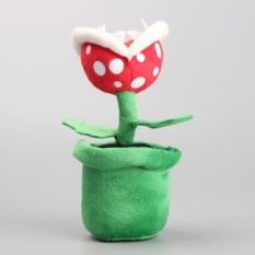 Grosir 10 Pcs/lot Super Mario Bros Bunga Piranha Tanaman Plush Toys Boneka Boneka Kids Gift 8