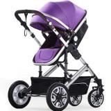 Jual Beli Whyus Dicuci Lembut Stroller Pushchair Car Seat Padding Pram Padding Liner Pat Cushion Ungu Tiongkok