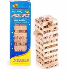 Wiss Toys Stacko Mainan Edukasi Balok Susun