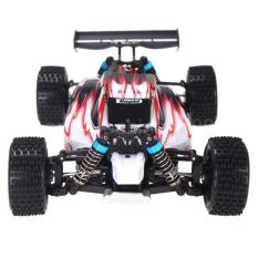 WL Toys A959 VORTEX 1:18 Scale 2.4G 4WD 50KM/H Off-Road Racing Buggy - Merah