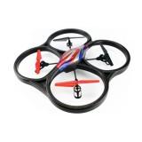 Spesifikasi Wl Toys V262 Cyclone 2 4G 4Ch 6 Axis Rc Quadcopter Rtf Hitam Terbaik