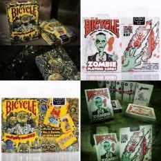 Kekuatan Luar Biasa Seksi Produk Setiap Hari Zombie untuk Keluarga Friend Perjalanan Petunjuk Fun Mainan Zombie Sepeda Everyday Zombie Bermain Cards Permainan -Warna-warni-1-Internasional