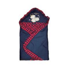 Wulanda selimut bayi baby scots pakai tutup kepala