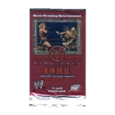 WWE Raw Deal Card Game Vengeance Booster Pack-Intl