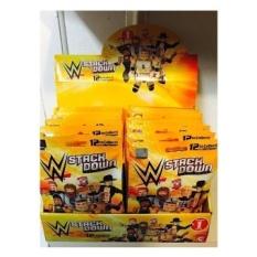 WWE Wrestling Match On C3 Konstruksi WWE StackDown Seri 1 Mystery Pack-INTL